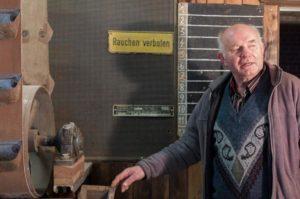 Frank Bomba langjähriger Silomeister und Karl Heinz Mench kaufmännischer Angestellter