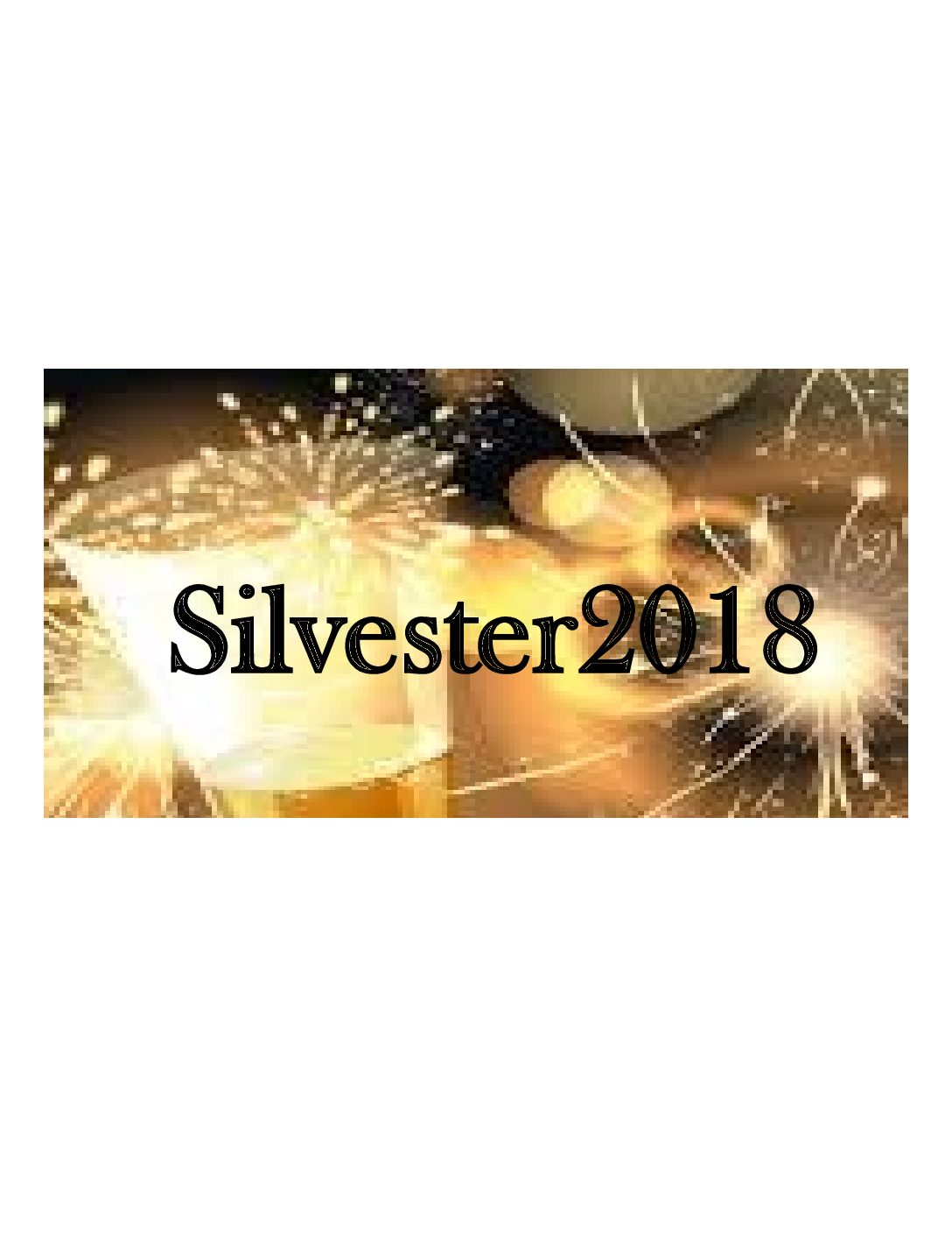 Silvester Party 2017/2018