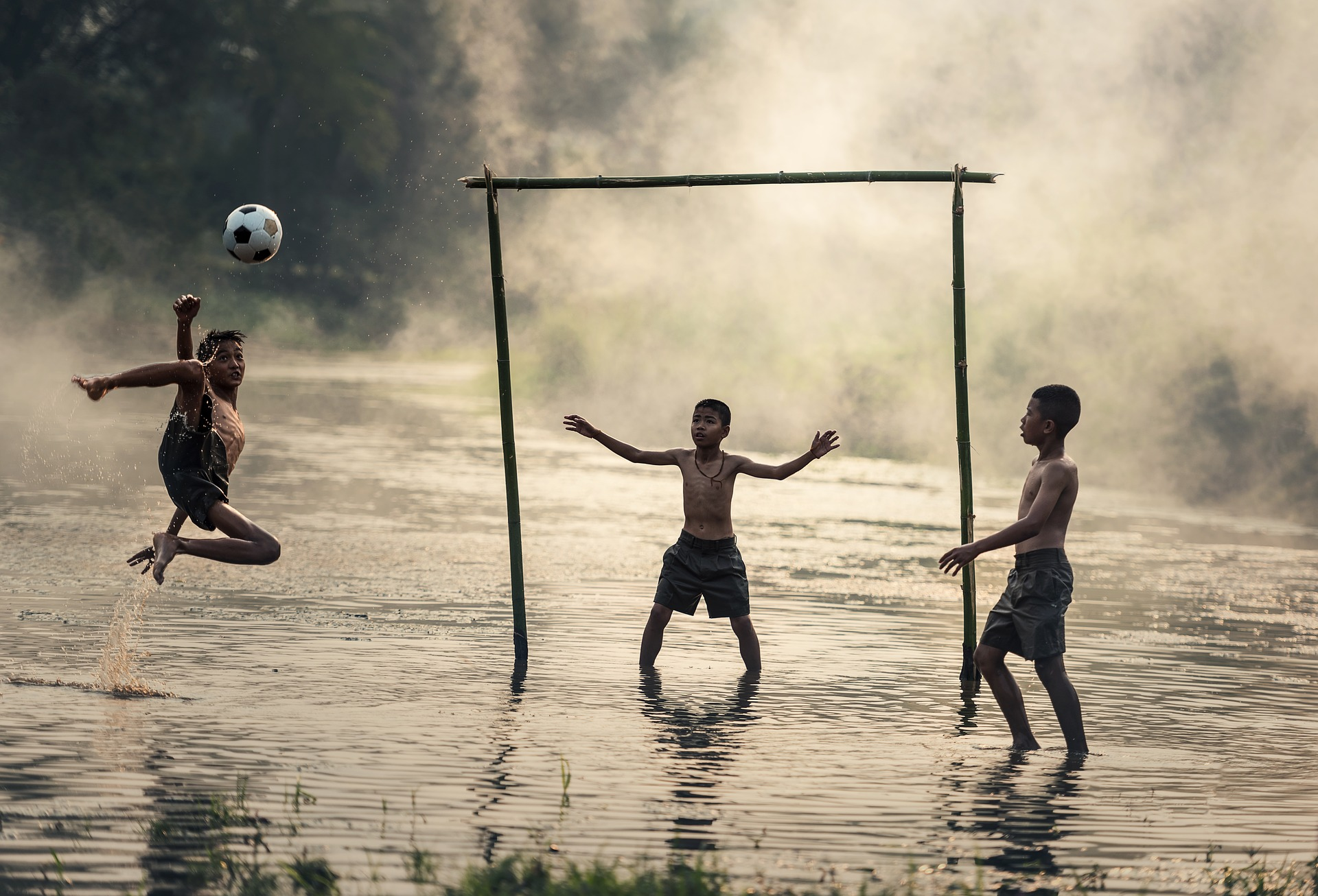 Fußball Weltmeisterschaft - Public Viewing - Portugal - Spanien