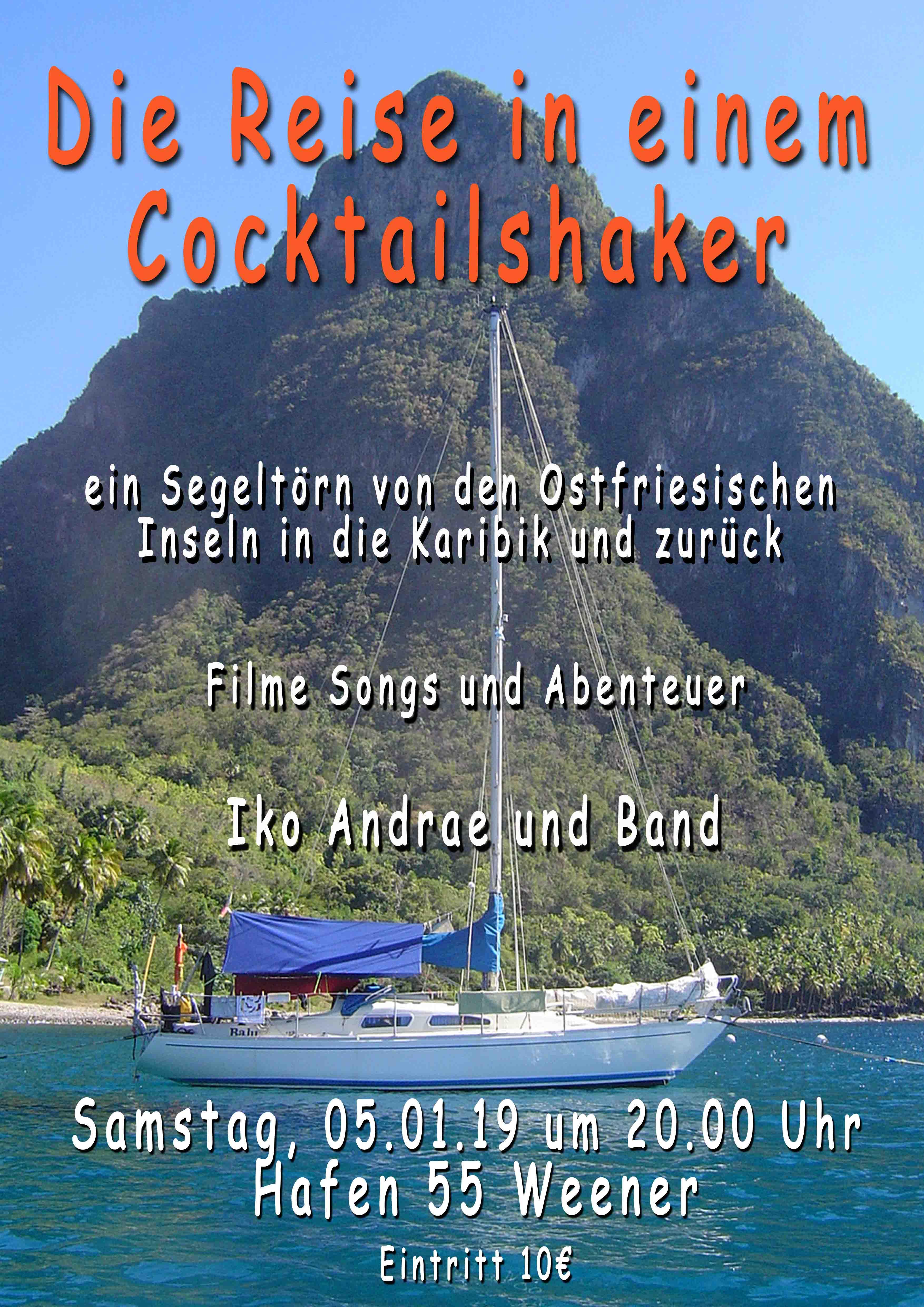 Reise im Cocktailshaker